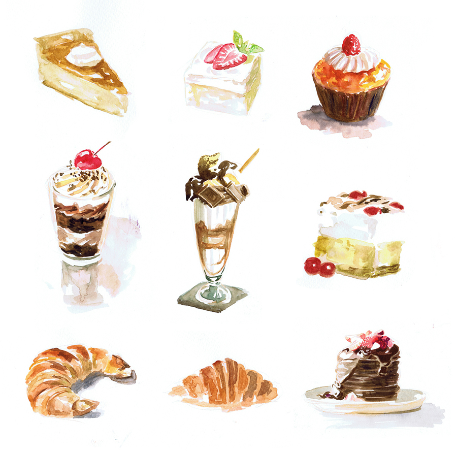 Food illustration - Fe...