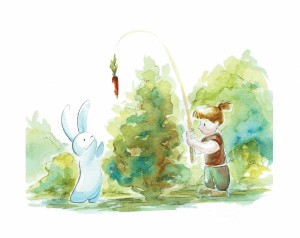 Bunny friendship beginning