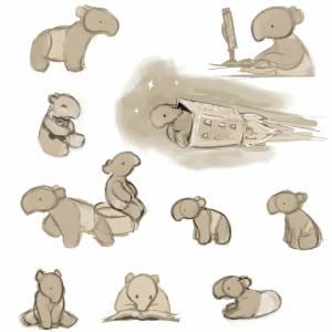 Tapir sketches